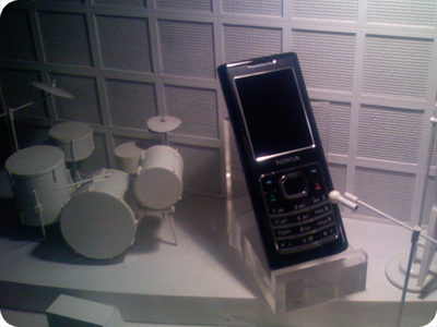 S40 with music conception