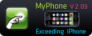 MyPhone V2.03 with touch screen supported and new features