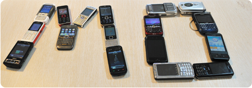 Phones we are using