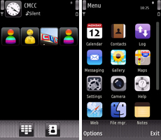 MyPhone theme on 5800 XM