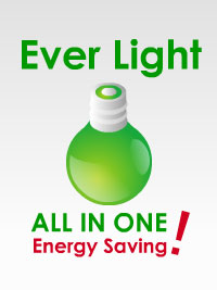 Ever Light, ALL IN ONE & Energy Saving!