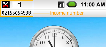 income number