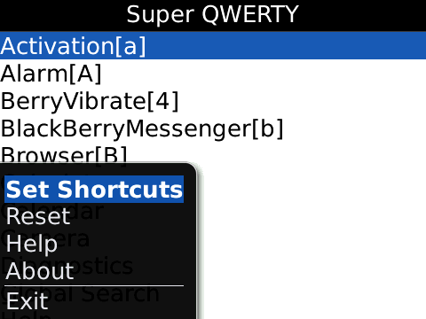 Super QWERTY screen - 3