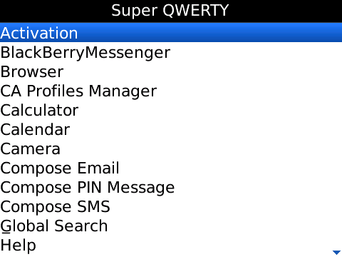Super QWERTY Screen - 2