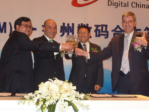 digital china with RIM